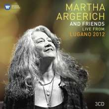 Martha Argerich & Friends - Live from Lugano Festival 2012, 3 CDs