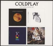 Coldplay: 4 CD Original (Limited-Edition), 4 CDs