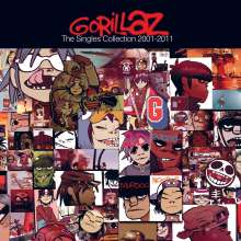 Gorillaz: The Singles Collection 2001 - 2011 (CD + DVD), CD