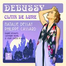 "Claude Debussy (1862-1918): Lieder ""Clair de Lune"", CD"