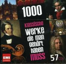 1000 Klassische Werke, die man gehört haben muss, 57 CDs