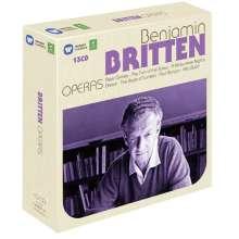 Benjamin Britten (1913-1976): Operas, 13 CDs