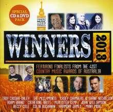 Country Music Awards Of Australia: The Winners 2013 (CD + DVD), 1 CD und 1 DVD
