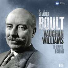Ralph Vaughan Williams (1872-1958): Adrian Boult - The Vaughan Williams Recordings (EMI), 13 CDs