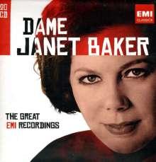 Janet Baker - The Great EMI Recordings, 20 CDs