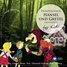 Engelbert Humperdinck (1854-1921): Hänsel & Gretel (Ausz.), CD