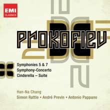 Serge Prokofieff (1891-1953): Symphonien Nr.5 & 7, 2 CDs