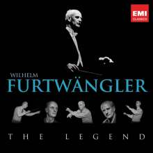 Wilhelm Furtwängler - The Legend, 3 CDs