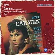 Georges Bizet (1838-1875): Carmen (in dt.Spr.), 2 CDs