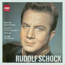 Rudolf Schock - Electrola-Querschnitte 1952-1961 (in deutscher Sprache), 10 CDs