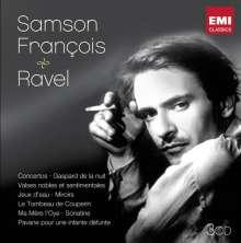 Maurice Ravel (1875-1937): Samson Francois & Ravel - Das Klavierwerk, 2 CDs