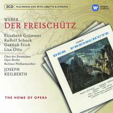 Carl Maria von Weber (1786-1826): Der Freischutz, 2 CDs