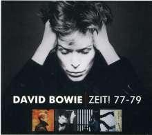 David Bowie (1947-2016): Zeit! 77-79, 5 CDs