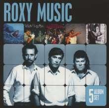 Roxy Music: 5 Album Set, 5 CDs