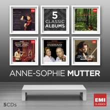 Anne-Sophie Mutter - 5 Classic Albums, 5 CDs