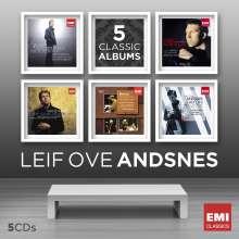 Leif Ove Andsnes - 5 Classic Albums, 5 CDs