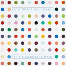 Thirty Seconds To Mars: Love Lust Faith + Dreams (Explicit) (Limited Deluxe Edition) (CD + DVD), 1 CD und 1 DVD