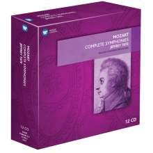 Wolfgang Amadeus Mozart (1756-1791): Symphonien Nr.1-41, 12 CDs