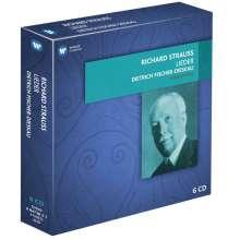 Richard Strauss (1864-1949): Sämtliche Klavierlieder, 6 CDs