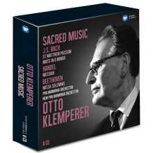 Otto Klemperer - Sacred Music, 8 CDs