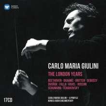 Carlo Maria Giulini - The London Years, 17 CDs