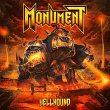 Monument: Hellhound (Limited-Fanbox-Edition) (Red/Yellow/Orange Marbled Vinyl), 2 LPs