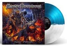Mystic Prophecy: Metal Division (Blue & White Split Vinyl), LP