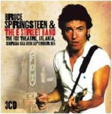 Bruce Springsteen: The Fox Theatre, Atlanta, Georgia USA 30th Sept. 1978, 3 CDs