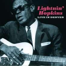 Sam Lightnin' Hopkins: Live In Denver 1974, CD