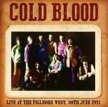 Cold Blood: Live At The Fillmore West 30th June 1971, CD