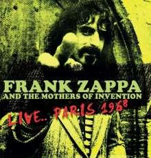 Frank Zappa (1940-1993): Live... Paris 1968 (180g), LP