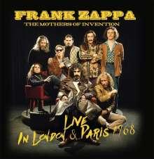 Frank Zappa (1940-1993): Live In London & Paris 1968, 2 CDs