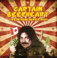 Captain Beefheart: Live In Vancouver 1981, CD