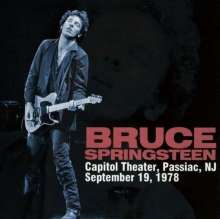Bruce Springsteen (geb. 1949): Capitol Theater, Septemer 19, 1978 (180g) (Limited Revised Version), 4 LPs