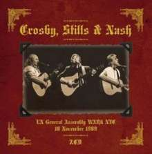 Crosby, Stills & Nash: United Nations General Assembly Hall, New York, November 18,1989, 2 CDs