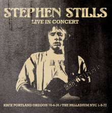 Stephen Stills: Live In Concert, CD