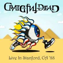 Grateful Dead: Live In Stanford, CA '88 (180g) (Limited Numbered Deluxe Edition) (Colored Vinyl), 3 LPs