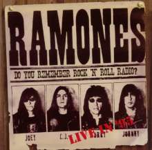 Ramones: Do You Remember Rock 'n' Roll Radio? Live In '95, CD