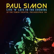 Paul Simon (geb. 1941): Live 'N' Late In The Evening At The Tower Theater, Philadelphia '80, CD