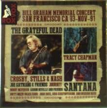 Bill Graham Memorial Concert San Francisco CA 03-Nov-91, 5 CDs