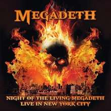 Megadeth: Night Of The Living Megadeth: Live In New York City 1994, CD