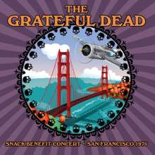 Grateful Dead: Snack Benefit Concert, San Francisco 1975 (180g), LP