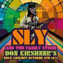Sly & The Family Stone: Don Kirshner's Rock Concert October 9th 1973 (180g) (Limited-Edition) (Colored Vinyl), LP
