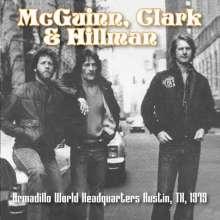 Roger McGuinn, Gene Clark & Chris Hillman: Armadillo World Headquarters Austin, TX, 1979, CD