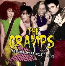 The Cramps: Teenage Werewolf Live, CD