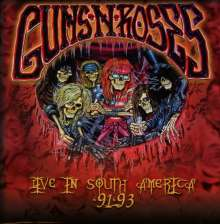 Guns N' Roses: Live In South America '91-'93, 5 CDs