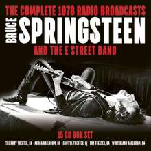Bruce Springsteen: The Complete 1978 Radio Broadcasts, 15 CDs