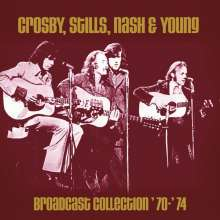 Crosby, Stills, Nash & Young: Broadcast Collection '70 - '74, 6 CDs