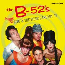 The B-52s: Live In The Studio January '78, CD