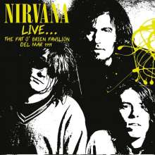 Nirvana: Live: The Pat O'Brien Pavilion Del Mar 1991 (180g) (Limited-Numbered-Edition) (Yellow Vinyl), LP